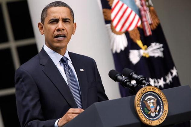 Obama Deliver Remarks On Healthcare In The Rose Garden