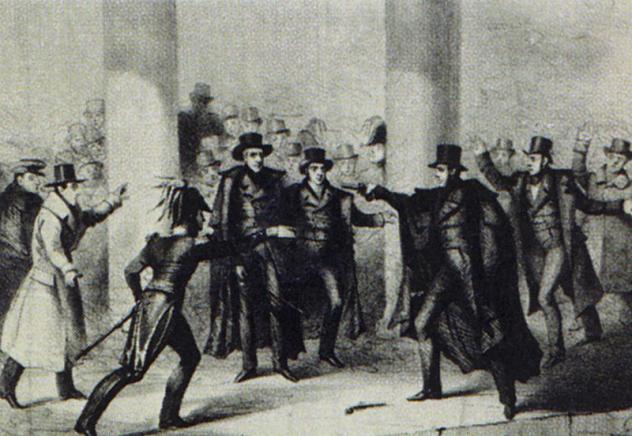 Andrew Jackson Assassination Attempt