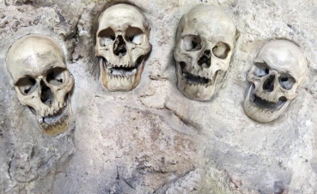 Buried Skulls
