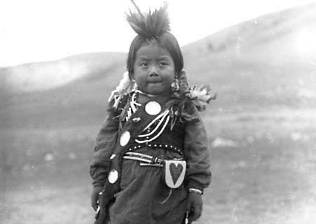 Native American Child