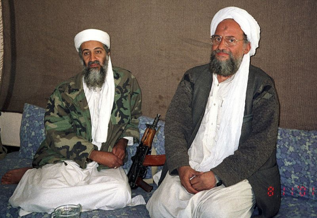 Bin Laden and Al-Zawahiri