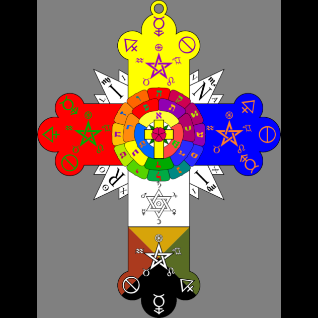 Golden Dawn Cross