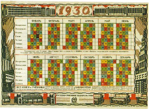 Soviet Revolutionary Calendar