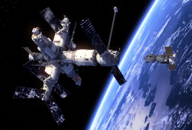 Soyuz with Mir