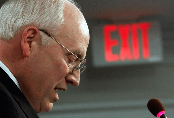 Dick Cheney Speaks At The American Enterprise Institute