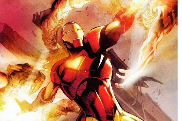 10- iron man