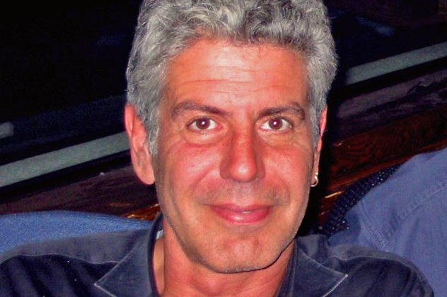 2- Anthony Bourdain