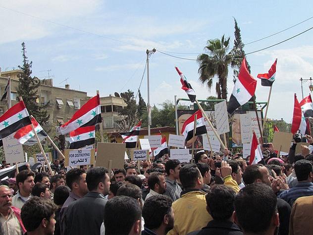 640px-Syrian_Demonstration_Douma_Damascus_08-04-2011