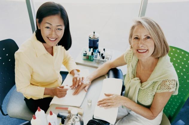 Asian Manicurist