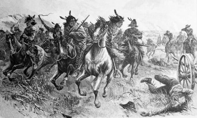 Native American Raid