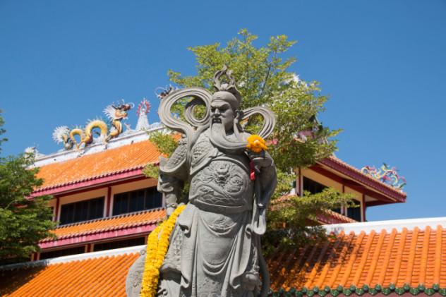 Statue Of Guan Yu