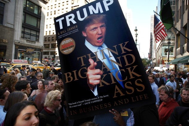 Donald Trump Signs Copies Of His New Book