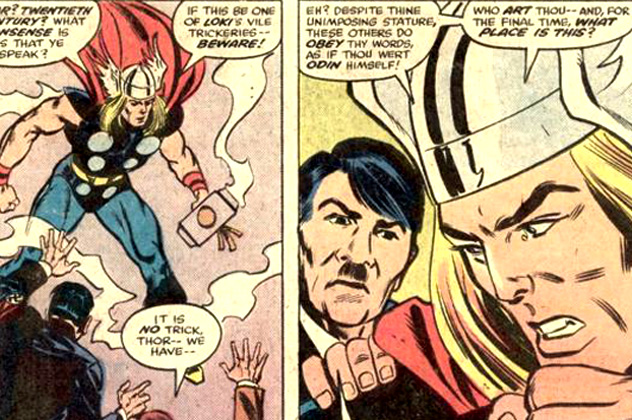 Image result for thor and hitler