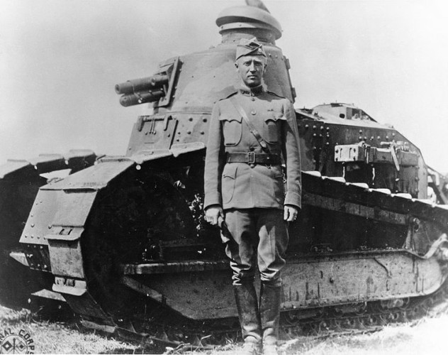 753px-George_S._Patton_-_France_-_1918