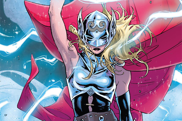 9- thor's girlfriend