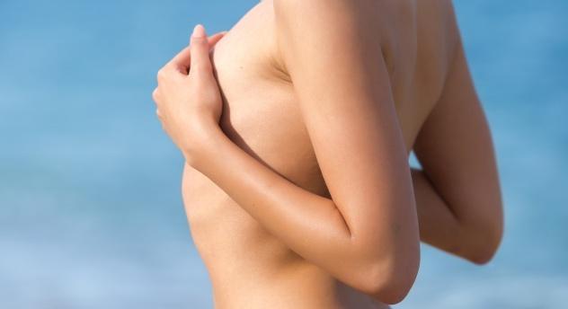 Massaging Breasts