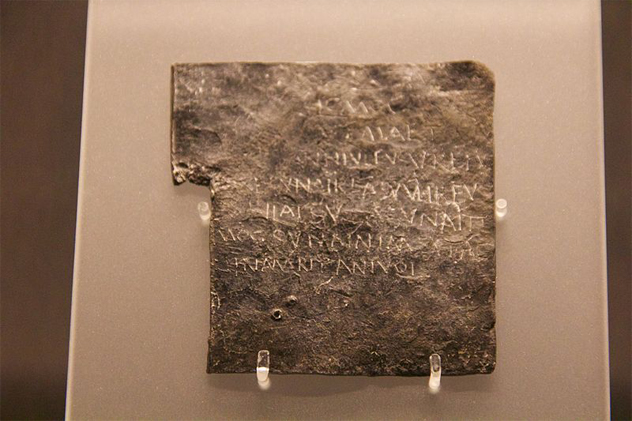 1- curse tablet