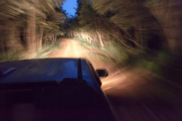 7carforestnighttime