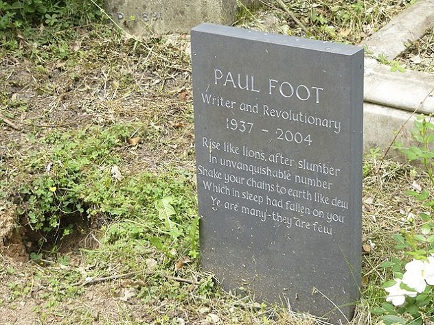 640px-Gravestone_of_Paul_Foot_in_Highgate_Cemetery,_London