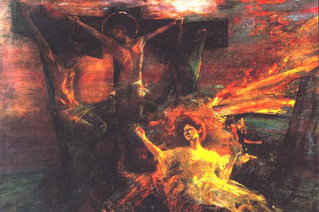 8- crucifixion