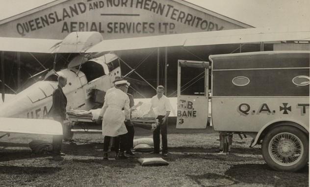 Air_ambulance_QANTAS_Brisbane_1931