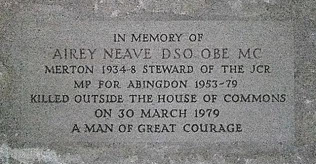 Airey_Neave_memorial_Merton_College