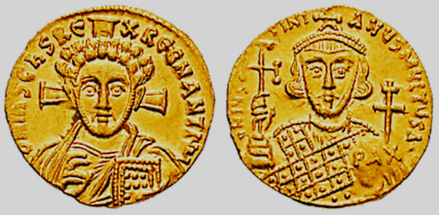 Justinian II Coins