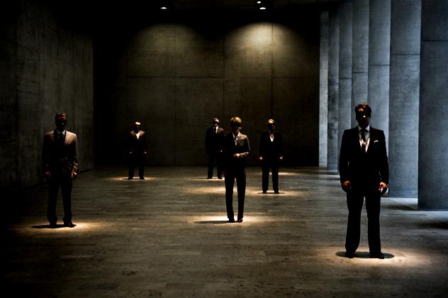 2- men in black