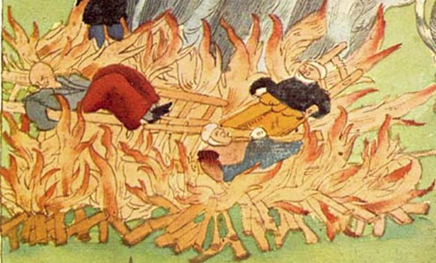 Burning People