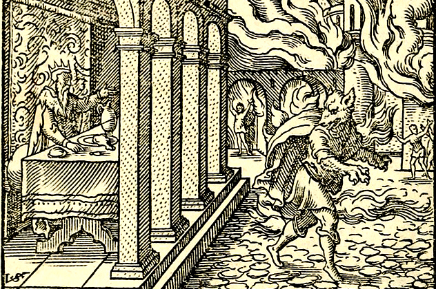 2- werewolf punishment lycaon