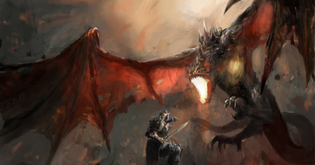 10 Dragons From British Folklore
