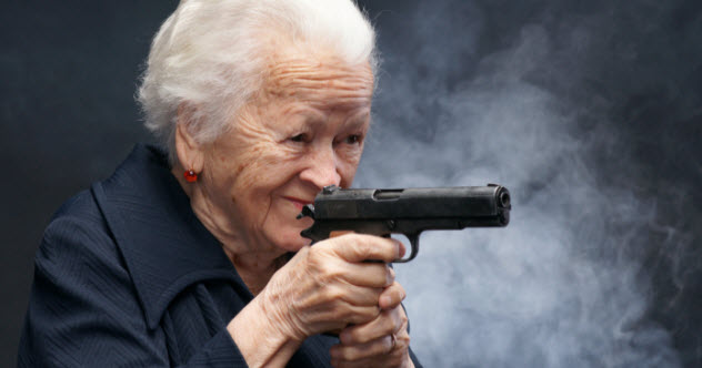 10 Sassy Seniors Criminals Regretted Messing With