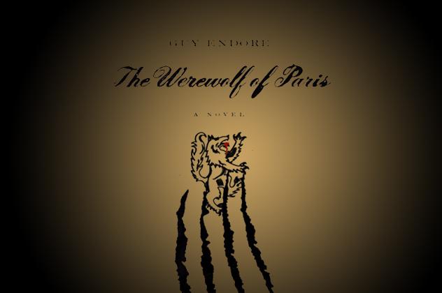the werewolf of paris book cover 2