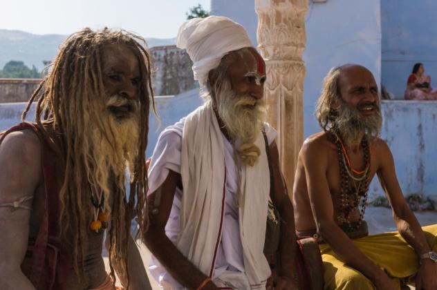 Amused Indians
