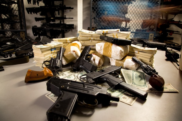 Guns, Drugs, and Money