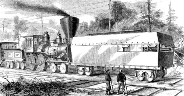 Unusual steam engines