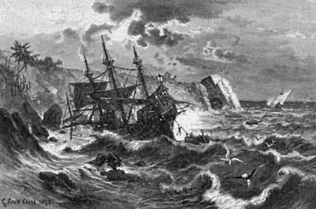 Santa Maria Wreck