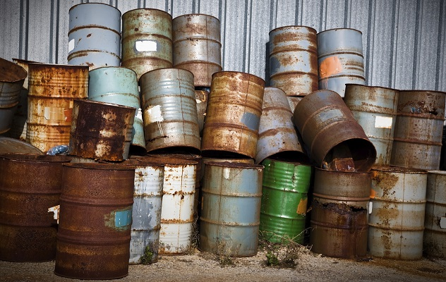 Stacks of Chemical Drums Found At The Farm