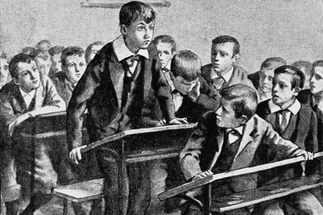 1800s School