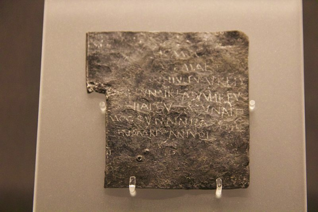 Bath Curse Tablet