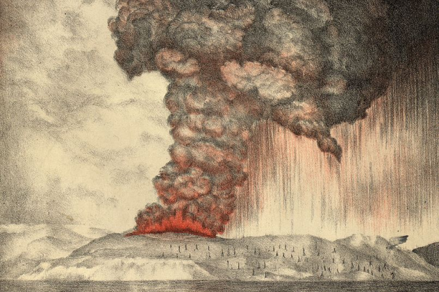 Krakatoa Eruption