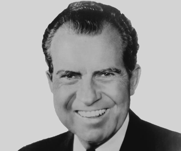 Nixon Smiling
