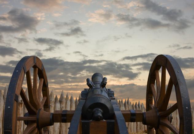 ancient barrel in defence