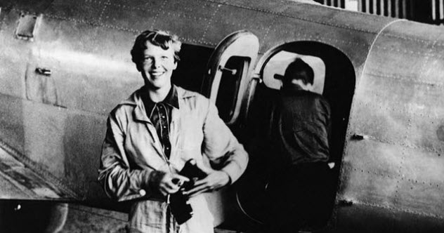 10 Things School Didn't Tell You About Amelia Earhart's Disappearance