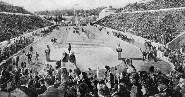 Photo of 10 Amusingly Bizarre Tales From The First Modern Olympics