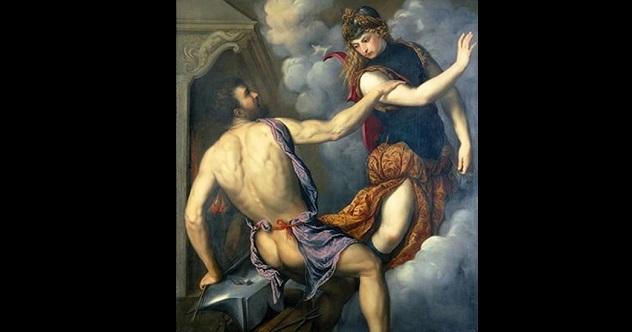 athena and hephaestus