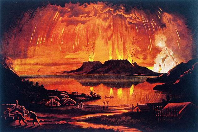 1886 Tarewara Eruption