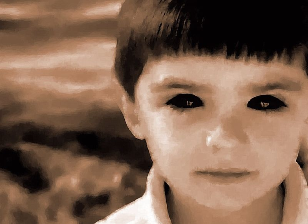 Black-Eyed Kid