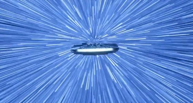 Hyperspace Millennium Falcon