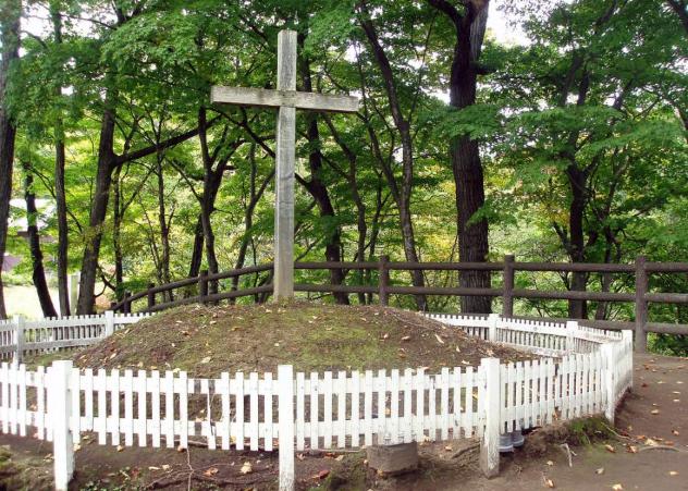 Jesus Grave Shingo